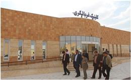 بازديد  معاون برنامه ريزي وامور عمراني فرمانداري از پروژه هاي بهداشت ودرمان